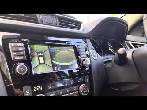 2014 All-New Nissan Qashqai Reverse Parallel Park Assist