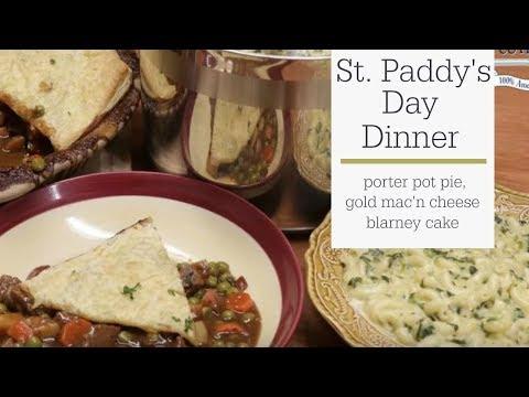 St  Patrick's Day Dinner Recipes - Pot Pie, Kelly's Mac 'n Cheese, & Blarney Cake | RadaMfg.com