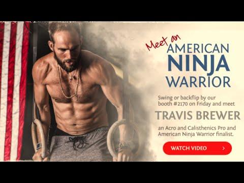 Travis Brewer | Sunwarrior Ambassador & American Ninja Warrior