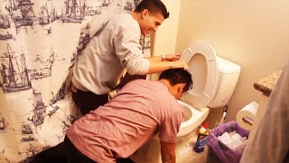 Download ROI KISSES THE TOILET! | Behind The Scenes Video