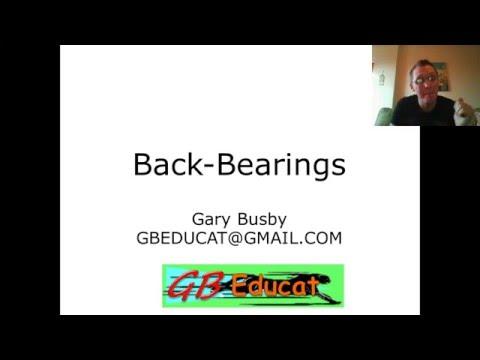 GG18  Back Bearings