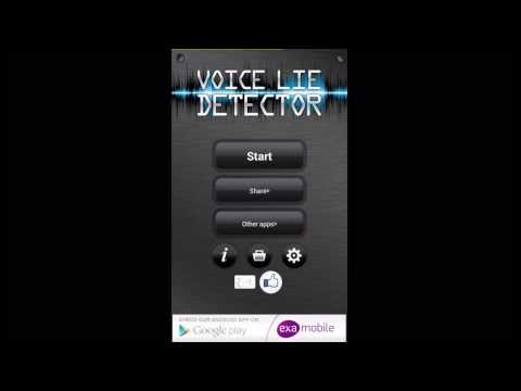 Voice Lie Detector Android