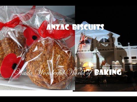 Anzac Biscuits / Monica Wada/ Wada Wonderful World of Baking