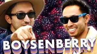 Ryan and Shane Eat Everything Boysenberry At Knott