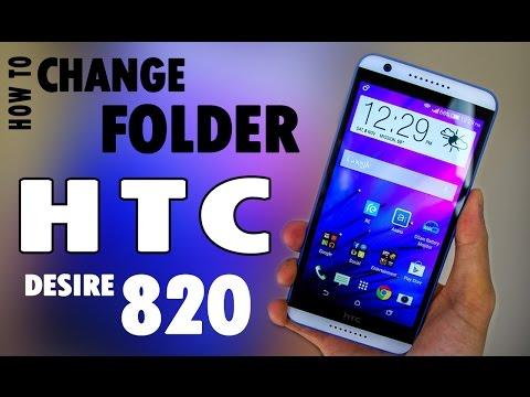 HTC Desire 820 folder  replace,