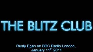 BBC Radio London - Rusty Egan -  January 11 2011
