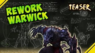 Rework WARWICK - Teaser | Noticias League Of Legends LOL