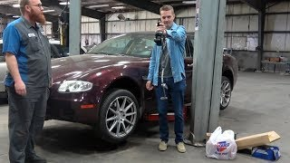 Will the Cheapest Maserati Quattroporte Ever Be Fixed??? Wiring Hack Jobs Found!