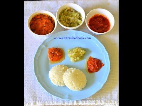 Raw Onion chutney For Idli, Dosa - Vengaya chutney in 3 ways !