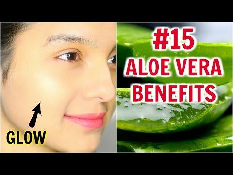 #15 Skincare Benefits & Uses Of ALOE VERA | Anaysa