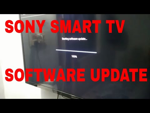 Sony Tv Software Update 2017/Sony Bravia W562D Smart tv Software Update