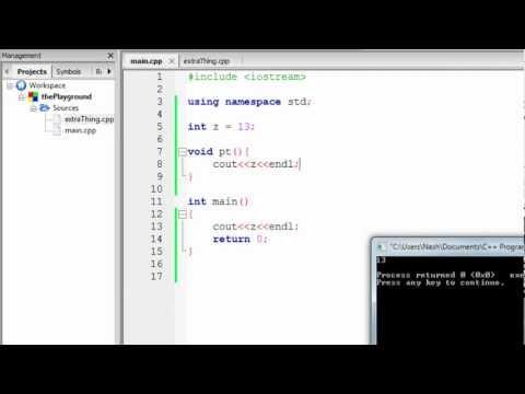 External variable - C Inline Function Extern