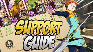 SUPPORT GUIDE! Everything You Need To Know! Seven Deadly Sins Grand Cross