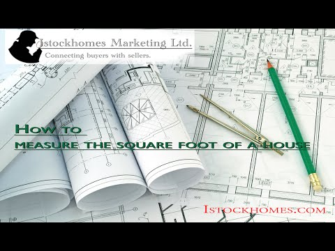 How to measure the square foot of a house by Istockhomes