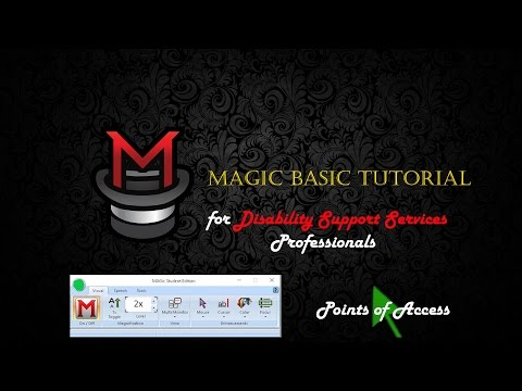 Basic Magic Tutorial for Disability Support Professionals