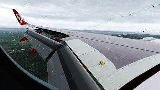 X-Plane 11] Landing Paris Orly ORTHO4XP [JAR-A320] - PakVim net HD