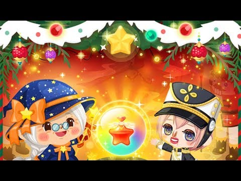 LINE Play - Christmas Gacha Spins & Gramma Wizzy Time Magic Toy Officer Outfit