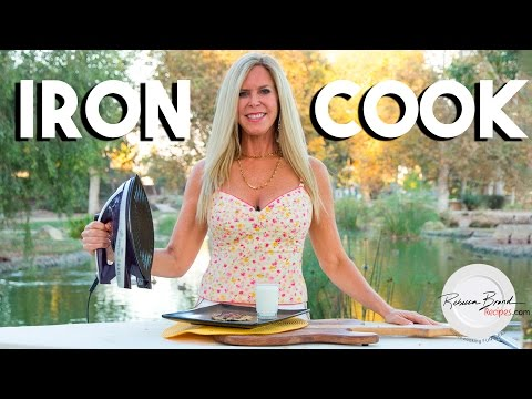 How to Make Chocolate Chip Cookies with an Iron : Iron Cook Recipe