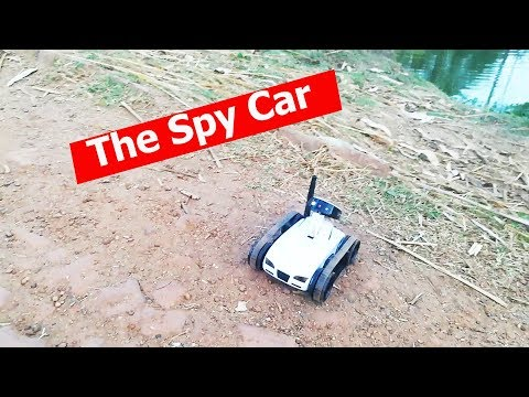 The spy car wifi control using smartphone