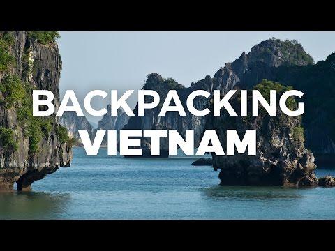 Backpacking in Vietnam · Ha Long Bay, Hanoi, Saigon · alltheplaces.net