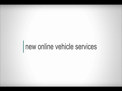 New Online Vehicle Services