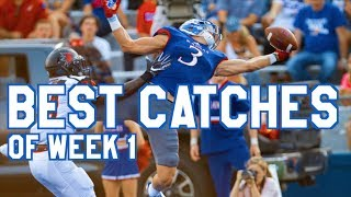 Best Catches of Week 1 | College Football Highlights 2017