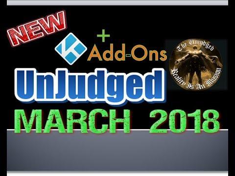 KODI NEW ADDON -THE UNJUDGED - LIVE TV - ALL MOVIES - UPDATED