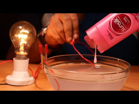 Having fun with electricity - Science Experiment