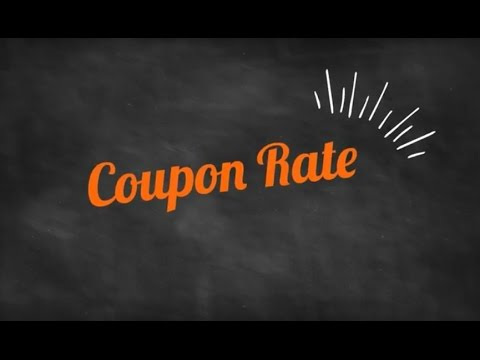 What does Coupon Rate mean?