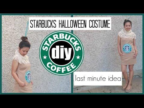 DIY STARBUCKS HALLOWEEN COSTUME//PEARL YAO