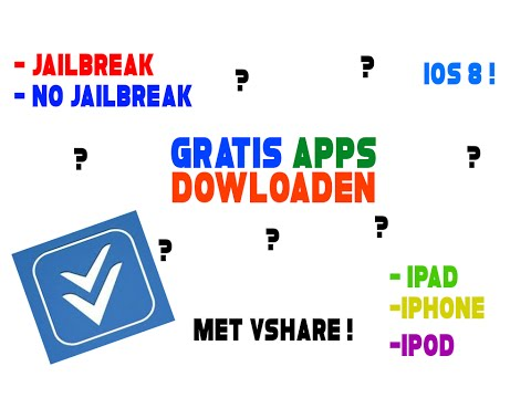 gratis apps dowloaden?!? (ios) (vshare) (ios 8.2 en lager)