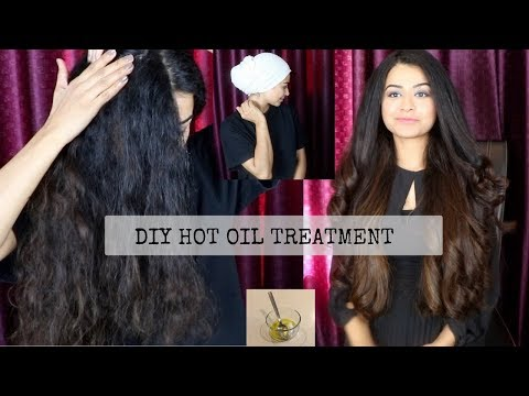 Hot Oil Treatment for Frizzy, Dry, Damaged Hair!
