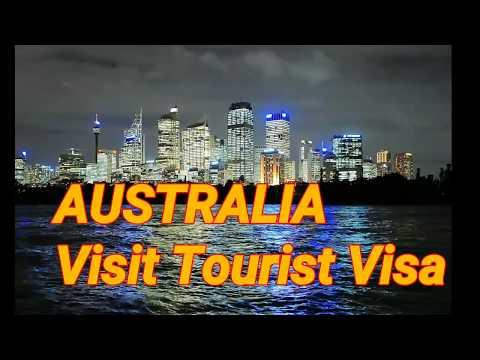 how to get australia tourist visa(ONLINE)