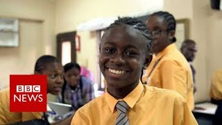 Is this African teenager a future coding superstar? - BBC News