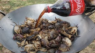 Download Delicious Fried Crab With Coca Cola / Field Crab Cooking with Coca-Cola Video