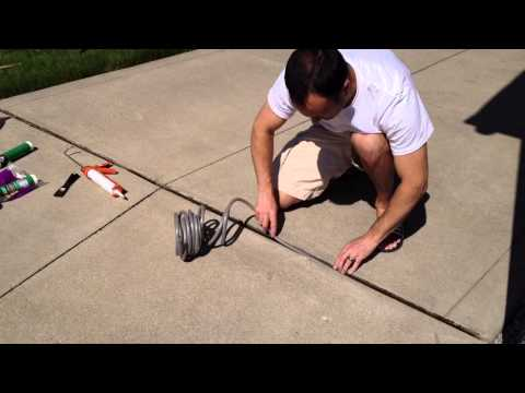 DIY Repair Driveway Expansion Joints