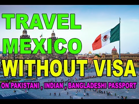 How To Travel Mexico Without Visa on Pakistani Passport Urdu/Hindi 2018 By Premier Visa Consultancy