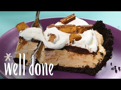 How To Make Frozen Peanut Butter Pie | Recipe | Well Done
