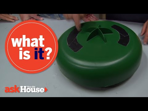 What Is It?   Green Plastic Circle