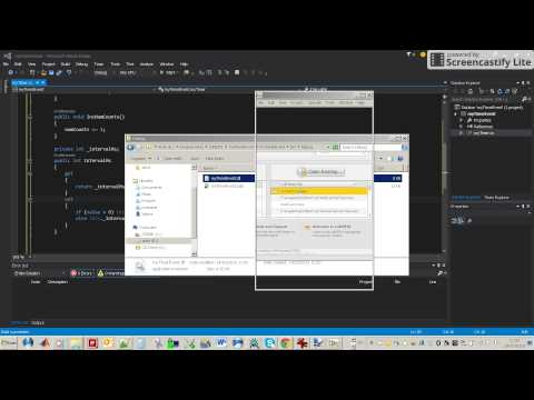 Labview - create and use Visual Studio C# DLL