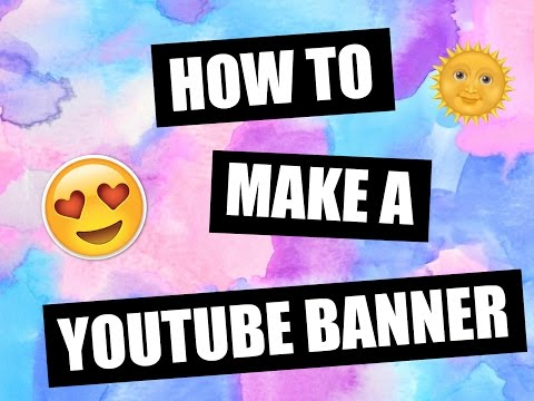How to make Youtube a banner with picmonkey