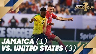 Jamaica (1) vs. United States (3) - Gold Cup 2019