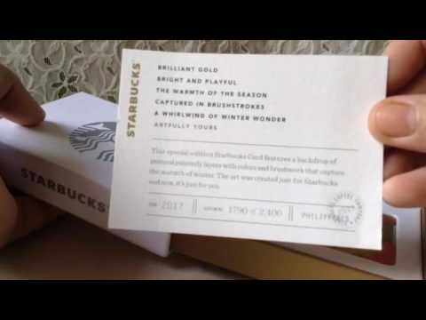 Starbucks Ph Metal Wrap Card 2016