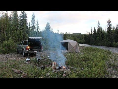 4 Weeks Mountain Truck Camping Homeymoon - First Night Boondocking