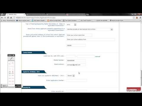 How to fill WBJEE 2014 Online Application Form-Step-by-step guide in Bengali
