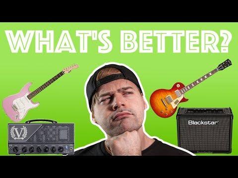 good guitar/bad amp VS bad guitar/good amp