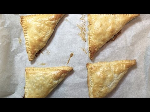 MINCE PIE TURNOVERS - Student Recipe