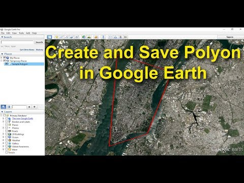 Create and Save Polygon in Google Earth