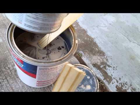 Rustoleum garage Floor Epoxy Shield Application and Review