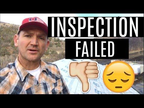 DIY Home Build: FAILED Framing Inspection... NOOOO!
